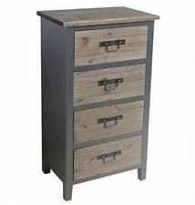 Überspannungsschutz der Schubladen 4 Kommoden aus MDF/Spanplatten in Holzoptik