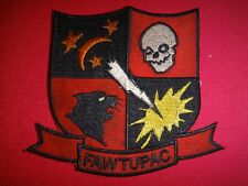 US Navy FLEET ALL WEATHER TRAINING UNIT PACIFIC - FAWTUPAC Patch