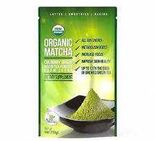 Matcha Green Tea Powder - Powerful Antioxidant Japanese Organic Culinary Grade 1
