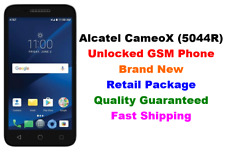 "Unlocked GSM AT&T Alcatel CameoX 5044R (White)4G LTE 5""Android 7.0 16GB T-Mobile"
