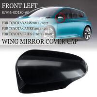 Door Left Wing Mirror Cover Cap For TOYOTA YARIS CAMRY 2011-17 For PRIUS C 12-18