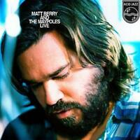 "Matt Berry - Matt Berry And The Maypoles Live - Blue (NEW 12"" VINYL LP)"