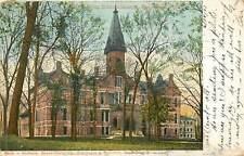 Iowa, IA, Des Moines, Main Building, Drake University 1907 UDB Postcard