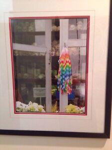 Cambodian Killing Fields-original color photograph; Florida artist signed framed