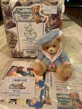 """Cherished Teddies Enesco 1998 Marty """"I'll Always Be There For You"""" 476722 w Box"""
