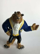 Beauty & The Beast Disney Beast Pvc Toy Figure in blue coat Applause