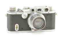 Leica IIIA with Summar 5cm or 50mm f/2 Lens, Rangefinder Camera VG