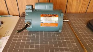 Reliance Electric Duty Master A-C Motor, C56S3002N / 1/3HP / 1725RPM / 115-230V