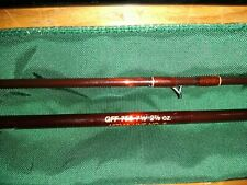 Fenwick Hmg Graphite Fly Fishing Rod Gff755 7' 6� With Original Tube & Sock