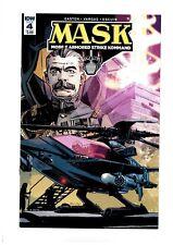 MASK #4 2017 IDW VENOM Matt Tracker Miles Mayhem COVER A 1ST PRINT