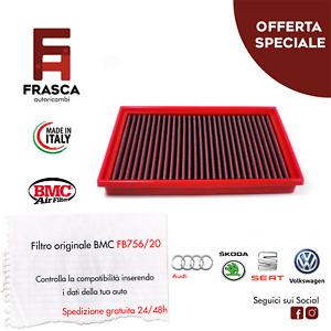 Filtro Aria Sportivo BMC FB756/20 VW GOLF 7 1.6 2.0 TIGUAN TOURAN T-ROC PASSAT