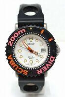 Orologio Seiko diver scuba watch 200 meters diving clock seiko 5h25-6a1c montre