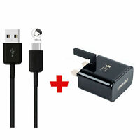 New Samsung Fast Charger Plug & 2M USB-C Data Cable For Galaxy S8 S9 S9+Plus
