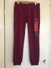 Womens Puma Track Pants Size M Or 12 Almost anew hipster Womens Streetwear