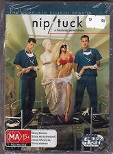 Nip Tuck - The Complete Fourth Season - DVD (PAL Region 4 Brand New Sealed)