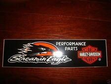 """3 LOT HARLEY DAVIDSON SCREAMING EAGLE BUMPER STICKERS 11.5 X 3"""" NEW"""