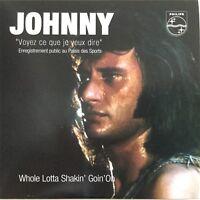 Meilleur Prix ! JOHNNY HALLYDAY : VOYEZ CE QUE JE VEUX DIRE - [ CD SINGLE ]