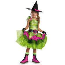 Girls Whimsy Witch Costume Size XS 3T-4T