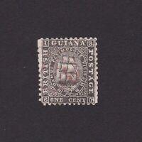BRITISH GUIANA 1864, SG# 57, CV £50, Perf. 12.5-13, medium paper, Used