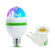 Haute Qualité E27 3 W Couleur auto Ampoule Tournant RGB LED Stade Light Party Di