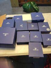 12 empty swarovski empty box lot 1