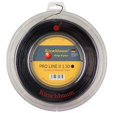 Kirschbaum Pro Line II (Black) 1.30mm/16 200m/660ft Tennis String Reel