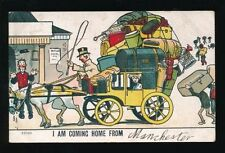 Manchester Posted Pre 1914 Collectable English Postcards