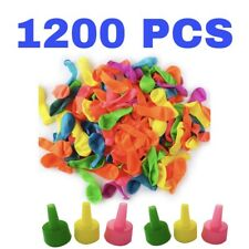 Water Balloons Refill Kit Total 1200 pack for Water Sports and Party
