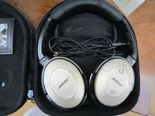 BOSE QC 15 quiet comfort noise cancelling wired headphones