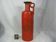 "Unusual 70´s design Ruscha pottery Keramik Vase   "" Vulkano "" glaze  R 26"