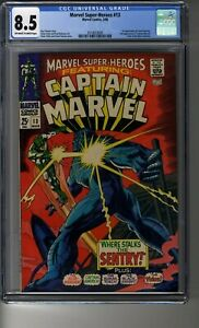 Marvel Super-Heroes (1968) # 13 - CGC 8.5 OW/White Pages - First Carol Danvers