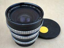 P. Angenieux 28mm F/3.5 Retrofocus Type R11 Paris Exakta Mount Lens #454582