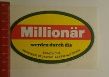 Pegatina/sticker: estatales noroeste Deutsche Klassenlotterie (120117108)