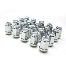 (20) 35MM TUNER STEEL CHROME 20 PCS 12X1.5MM LUG NUTS CLOSE END RACING