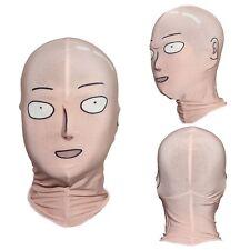ONE PUNCH MAN Saitama Face Mask Cosplay Comics Anime Costume Props Hood Masks