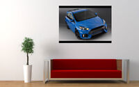 """2015 FORD FOCUS RS NEW GIANT LARGE ART PRINT POSTER PICTURE WALL 33.1""""x23.4"""""""