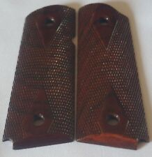 1911 NO AMBI-CUT GRIPS 4 OFFICER,DEFENDER,PARA C7 DD CHECKING COCOBOLO negro B-5
