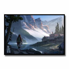The last of us Poster Silk Art Wall Prints 24X36 inch