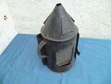 Ancienne lampe a pétrole Militaire Lanterne Chemin De Fer Cheminot