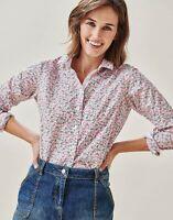 Crew Clothing Women's Lulworth Popplin Shirt Vintage Bud Size 8, 10, 14