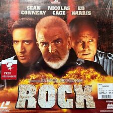LASERDISC - ROCK- WS VF PAL - Sean Connery, Nicolas Cage, Ed Harris COMME NEUF