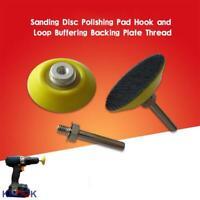 100mm Hook and Loop Backing Pad M14x2 Thread 10mm Hard Density EVA Layer 4 inch