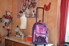 trolley neuf valise lulu castagnette cartable  grand modele +cadeaux