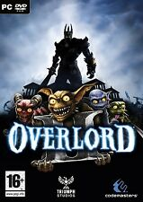 New - Overlord 2 PC DVD - Codemasters