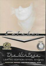 Esteban Master Series DVD Vintage Limited Edition Steel String House Rising Sun