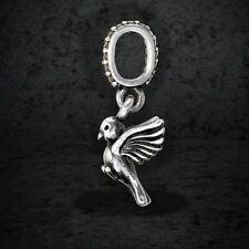 Genuine Pandora Silver Dove of Peace Pendant Charm 791394ccz Mint Condition