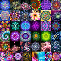 Full Drill Dreamy Flower 5D Diamond Painting Embroidery DIY Cross Stitch Decor