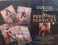 Julie Walters  PERSONAL SERVICES(1987)Original UK quad movie poster