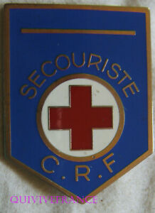 IN18501 - Croce Rosso Francese, Vigile Del Fuoco C. R.f , Resina, 1 Nastro