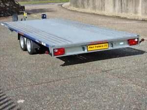 Car Transporter Trailer Aluminium Deck 16'5 x 6'11 FlatBed 3500 kg gvw